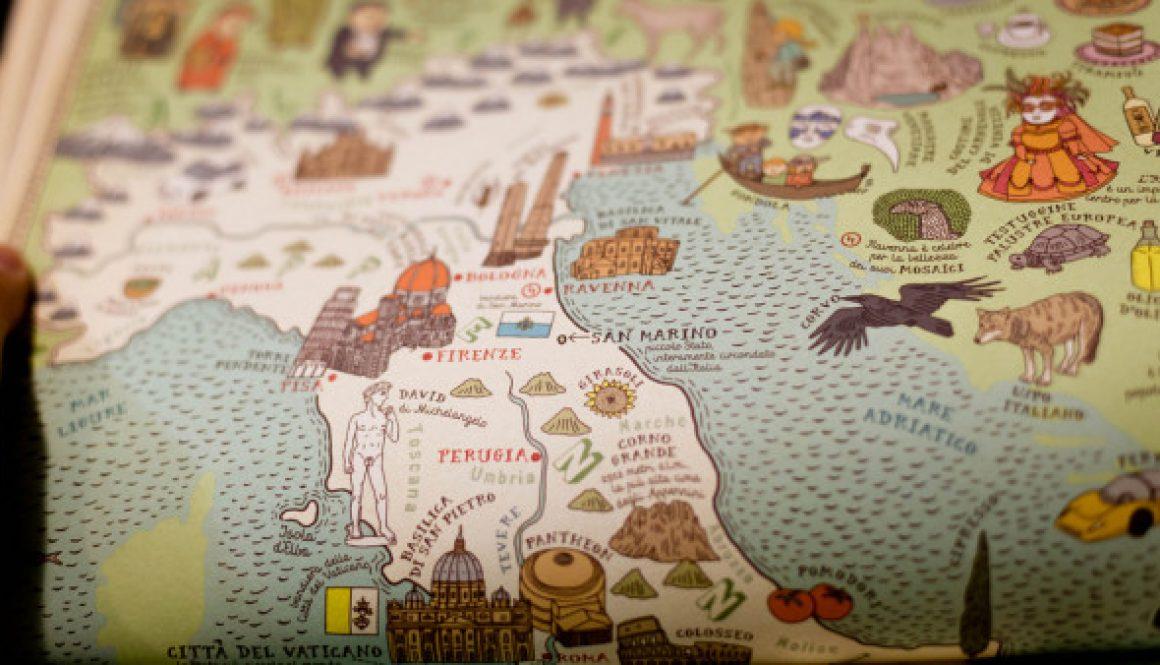 Itinerary to Italy